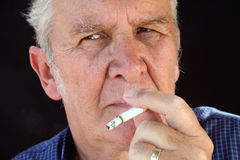 The Smoker 3 Royalty Free Stock Images