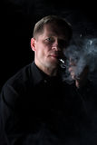 The smoker Royalty Free Stock Image