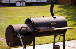 Smoker grill Stock Image