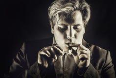 Smoker Stock Photography