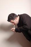 Smoker man Stock Photos