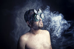 Smoker Man Stock Photos