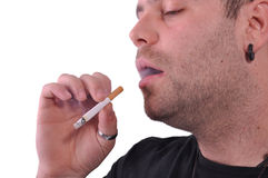 Smoker Royalty Free Stock Photography