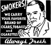 Smokers Stock Photo