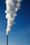Smokestack. Electric power station,  polluting the air Stock Photography