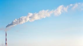 Smokestack Royalty Free Stock Images
