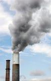 Smokestack da central energética fotografia de stock royalty free