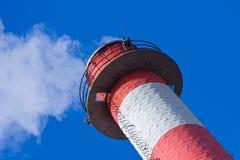 Smokestack-Detail lizenzfreies stockfoto