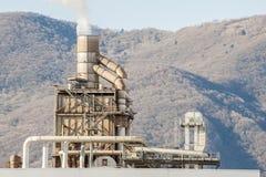 Smokestack of a factory. Stock Image