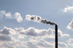 Smokestack industrial imagem de stock