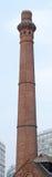 Smokestack made of brick. Stock Photo