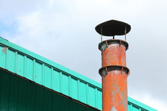 Smokestack pollution Royalty Free Stock Images