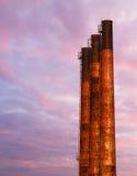 Smokestack Sky Stock Image