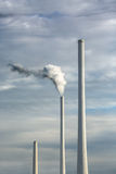 smokestacks Arkivfoto