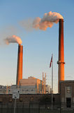 Smokestacks Stock Photos