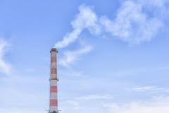 The smokestacks, smokestacks in the factory Stock Images