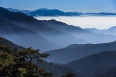 Smokey山在台湾 图库摄影