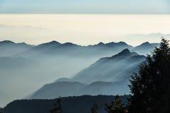 Smokey山在台湾 库存照片