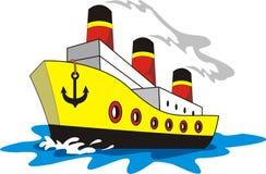 Smokey корабля Стоковые Изображения RF
