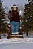 Smokey статуя медведя стоковые изображения rf