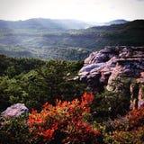 Smokey berg Royaltyfria Bilder