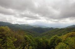 Smokey berg arkivfoton