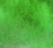 Smokey bright green background Royalty Free Stock Photo