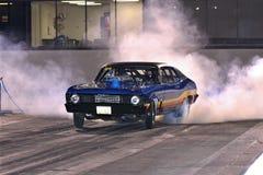 Smokey Burnout da nova Imagens de Stock Royalty Free