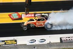 Smokey Burnout Royalty Free Stock Photography