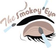The Smokey Eye Royalty Free Stock Images
