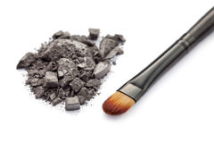 Smokey eyeshadow Royalty Free Stock Images