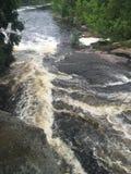 Smokey Falls grande Fotografía de archivo libre de regalías