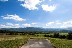 Smokey gór park narodowy Zdjęcia Royalty Free