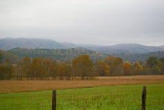 Smokey góry dolina Obraz Royalty Free