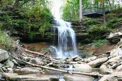 Smokey Hollow Waterfalls photos libres de droits