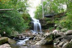 Smokey Hollow Waterfalls imágenes de archivo libres de regalías