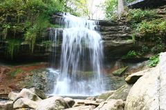 Smokey Hollow Waterfalls. In Waterdown near the GTA area royalty free stock photography