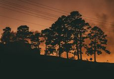 Smokey House Imagen de archivo libre de regalías