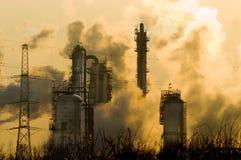 Smokey Industrie lizenzfreie stockbilder