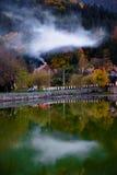 Smokey lake Royalty Free Stock Images