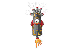 Smokey Monster Upset Image stock