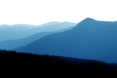 Smokey Mountain National Park Stock Photo