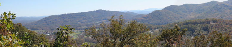 Smokey Mountain panorama Stock Photos