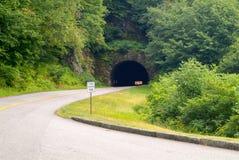 Smokey Mountain Parkway Tunnel Fotografia de Stock