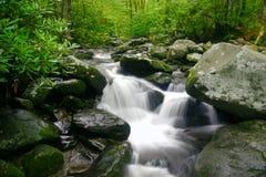 Smokey Mountain Waterfall Stock Photography