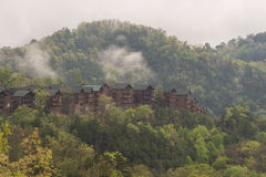 Smokey Mountains Cabins Stock Photos