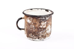 Smokey mug Stock Photography