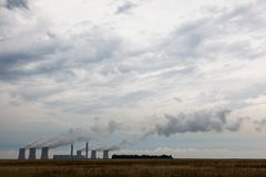 Smokey Power Station Arkivbilder