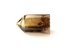 Free Smokey Quartz Crystal Over White Stock Photography - 42483742