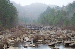 Smokey Riverbed Lizenzfreie Stockbilder